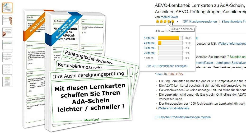 der verfasser und herausgeber der aevo lernkartei hat auch den ausbilderschein online kurs der aevoexpertende entwickelt testen sie doch einfach mal die - Aevo Praktische Prfung Beispiele